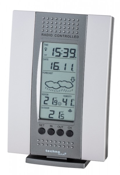 Technoline Funk-Wetterstation WS-7014-IT Funkthermometer