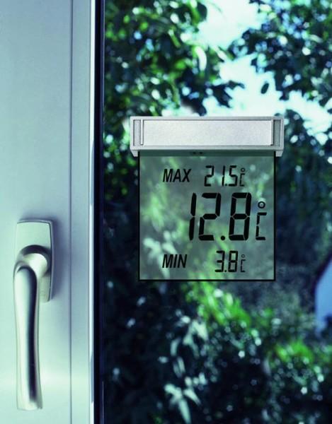 Digitales Fensterthermometer Vision TFA 30.1025