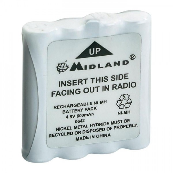 2 Stück Ersatzakku für Midland