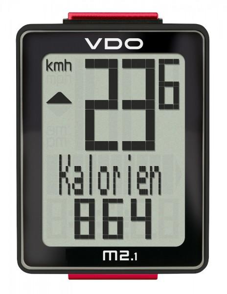 VDO M2.1 WR Analoger-Kabel-Fahrradcomputer Biketacho