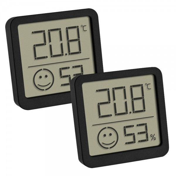 TFA 30.5053 Digitales Thermo-Hygrometer mit Komfortzone Raumklima Überwachung