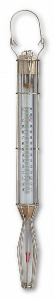 TFA 14.1007 Analoges Zuckerthermometer im Drahtgehäuse