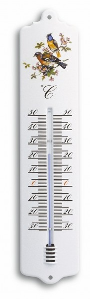 TFA 12.2011 Analoges Innen-Außen-Thermometer aus Metall
