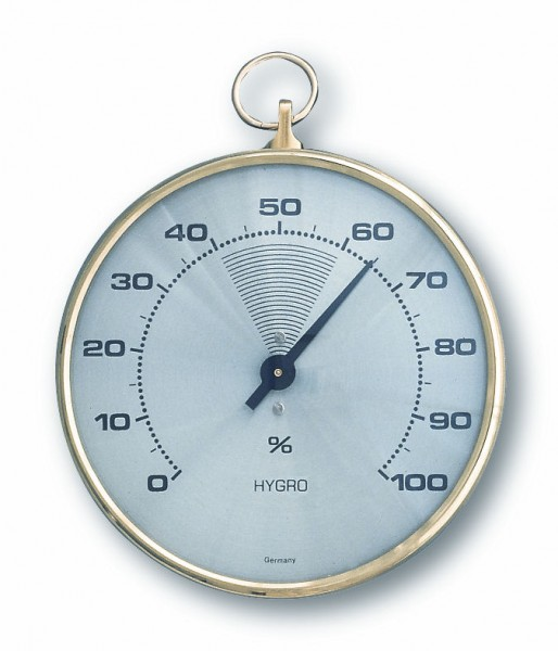 TFA 44.1002 Analoges Hygrometer mit Messingring