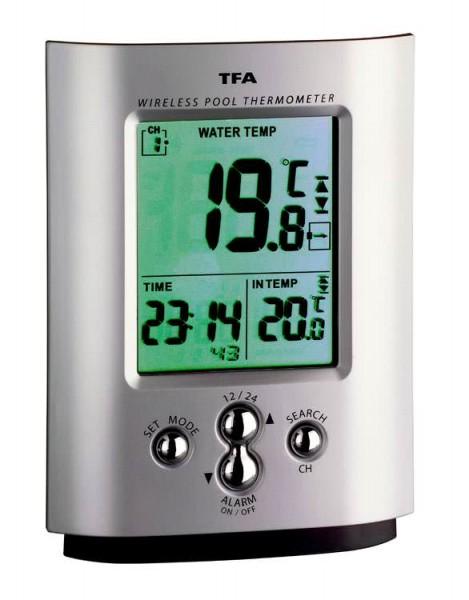 Funk-Poolthermometer Miami TFA 30.3033
