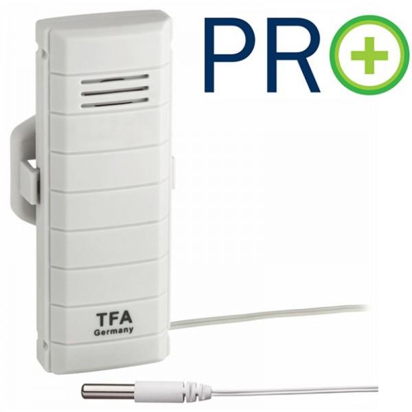 TFA 30.3308.02 Temperatur-Kabelsender mit PRO Funktion für WeatherHub-Gateway
