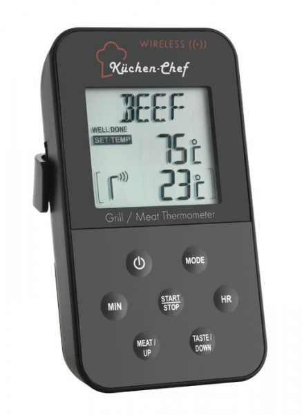 Küchen-Chef Funk-Braten-Thermometer TFA 14.1504