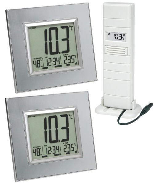 Technoline WS 8301 Mega 2 Display Funk-Temperatur-Station Funkthermometer 868 MHz