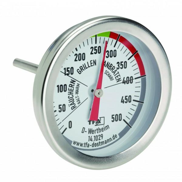 BBQ Grill Smoker Thermometer TFA 14.1029