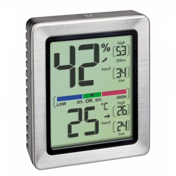Digitales Thermo-Hygrometer EXACTO TFA 30.5047.54
