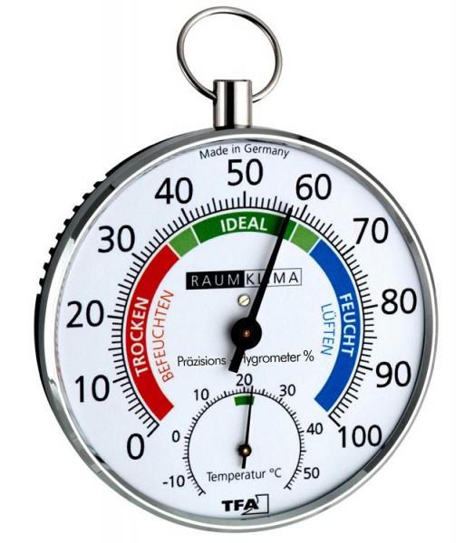 Präzisions-Wohn-Hygrometer Klimafritz TFA 45.2027