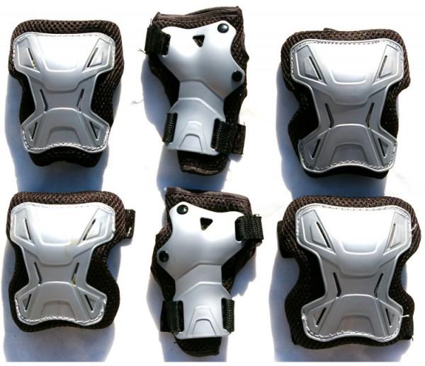 Schutzausrüstung 6 Tlg. Arm Handgelenk Knieschützer