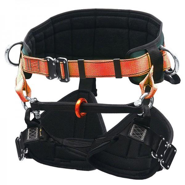 Klettergurt TH 030 orange Gurtgeschirr EN 813, EN 358 Schutzausrüstung
