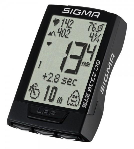 Sigma BC 23.16 STS Set 02317 Fahrradcomputer Biketacho Digital