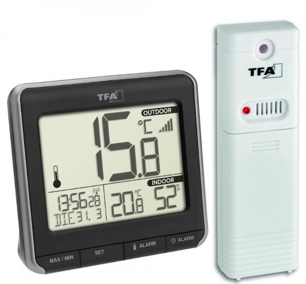 Funk-Thermometer Prio TFA 30.3069.01 mit Raumklima