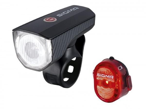Sigma Fahrradlampe Aura 40 Set 17650