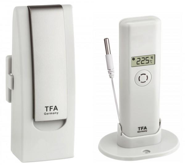 Weatherhub Gefrierschrank Temperaturkontrolle Lebensmittelüberwachung TFA 31.4011.02