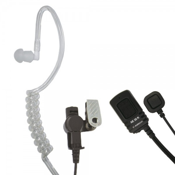 Midland Security Headset AE 32 K Kenwood Stecker