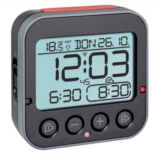 Digitaler Funk-Wecker BINGO 2.0 TFA 60.2550.01 mit Temperatur und Lichtsensor
