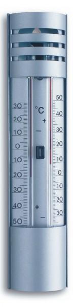 Gartenthermometer TFA 10.2007 Alu-Min-Max-Thermometer