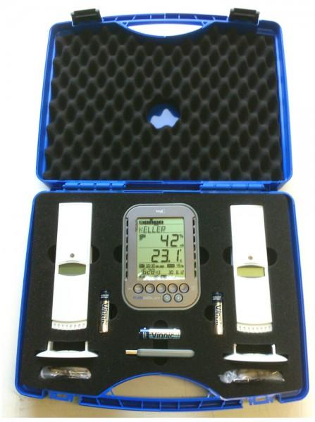 Profi Messkoffer Klimalogg Pro TFA 30.3039.10 mit 2 Sender