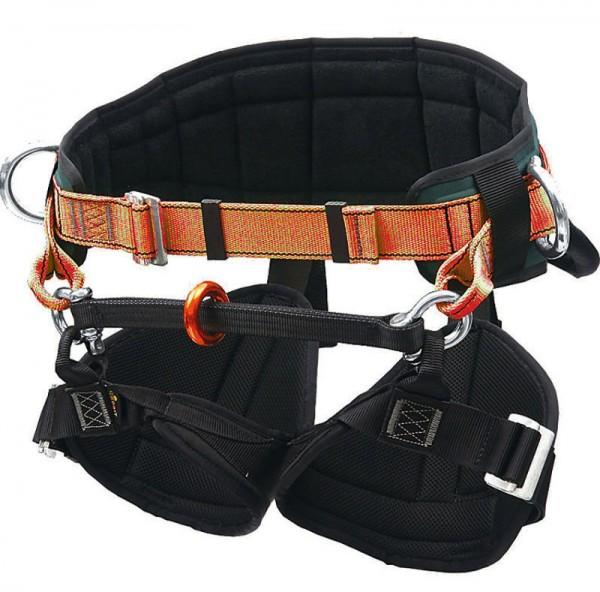 Klettergurt TH 020 orange Gurtgeschirr EN 813, EN 358 Schutzausrüstung