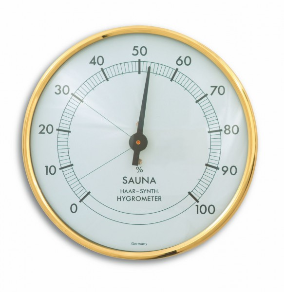TFA 40.1003 Analoges Sauna-Hygrometer mit Metallring