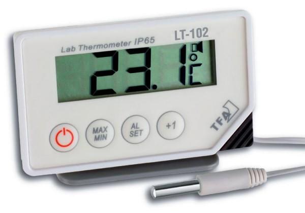 TFA Dostmann 30.1034.K.EK dig. LT-102 Thermometer mit Kabelfühler inkl. ISO Zertifikat