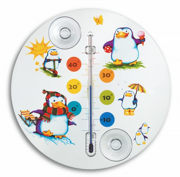 TFA 14.6016 Analoges Fensterthermometer PINGUIN