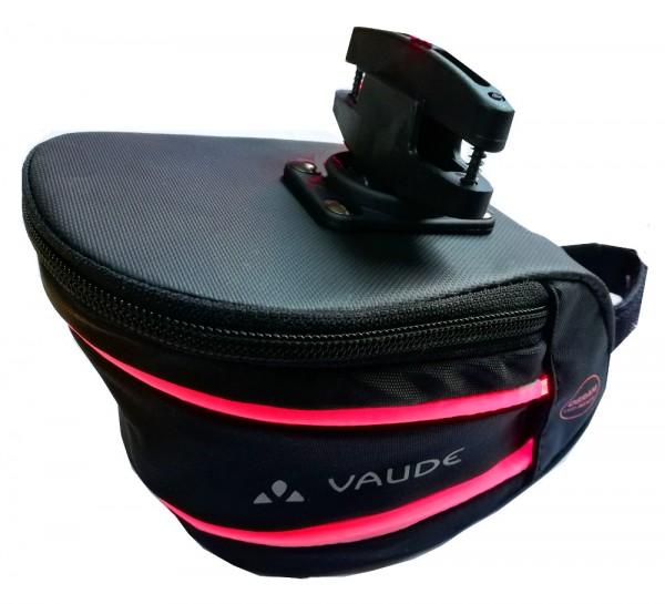 Vaude Satteltasche Tool LED Plus incl. Osram Lichtleiter Set Fahrradtasche