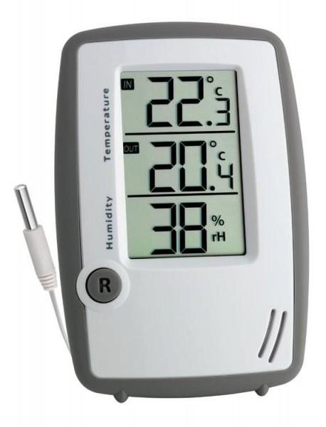 30.5024 Digitales Thermo-Hygrometer mit Kabelfühler Room Control Plus