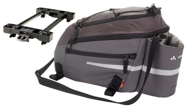 Vaude Silkroad L Sondermodell iron mit Snap IT Halterung E-Bike Tasche