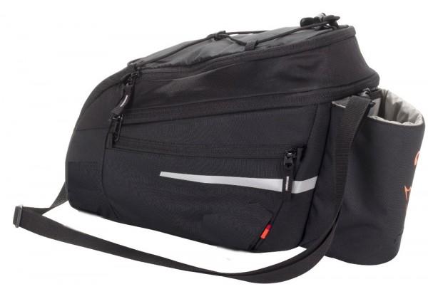 Vaude Silkroad L Sonderedition mit Schirmaufdruck und Snap-IT Halter E-Bike Tasche