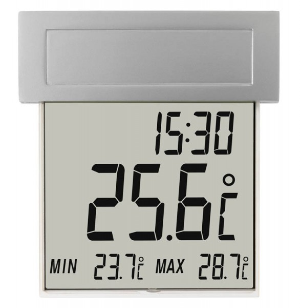 Fensterthermometer Vision Solar beleuchtet TFA 30.1035