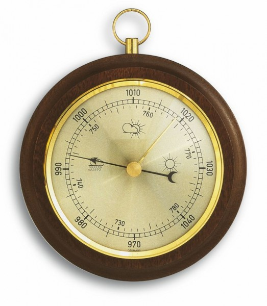 TFA 29.4001 Analoges Barometer aus Nussbaum