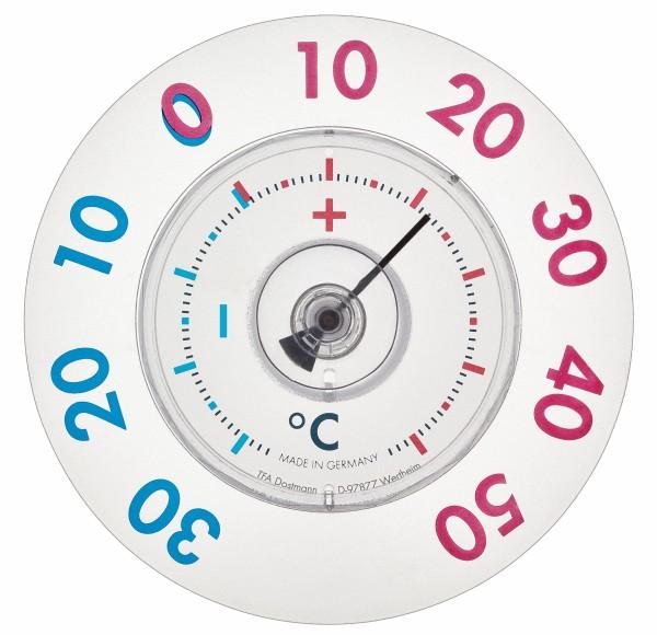 TFA 14.6014 Analoges Fensterthermometer TWATCHER XL