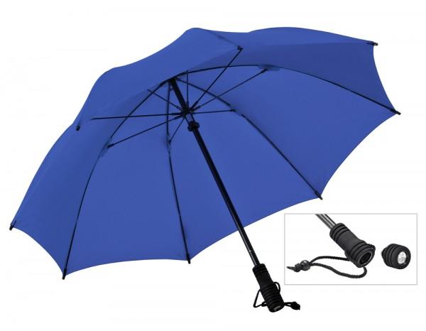 Euroschirm Regenschirm Swing flashlite mit LED Taschenlampe Trekkingschirm
