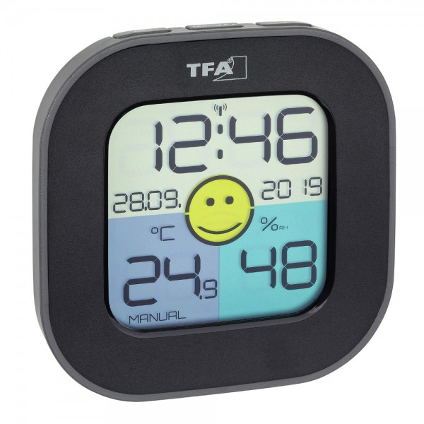 Digitales Thermo-Hygrometer FUN TFA 30.5050 farbiges Display