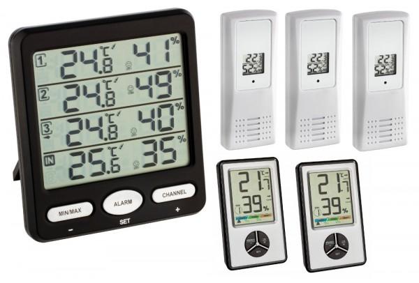 Klima-Monitor-Pro TFA 30.3054.Pro Thermo-Hygrometer