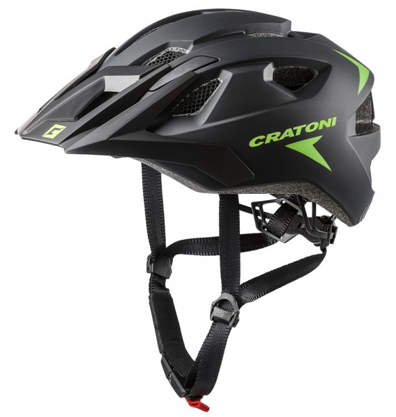 Cratoni All Mountain Fahrradhelm Allride mit Rücklicht Mountainbikehelm