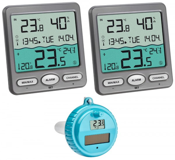 Funk-Poolthermometer Venice Plus TFA 30.3056.10.Plus Schwimmbadthermometer