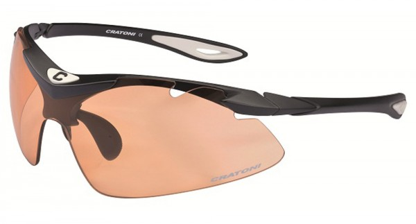 Cratoni Sportbrille High-Fly Photochromic Fahrradbrille Sonderpreis