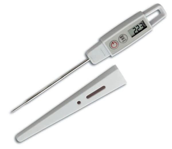 TFA Dostmann 30.1040.K.EK Einstichthermometer Küchenthermometer mit ISO-Zertifikat