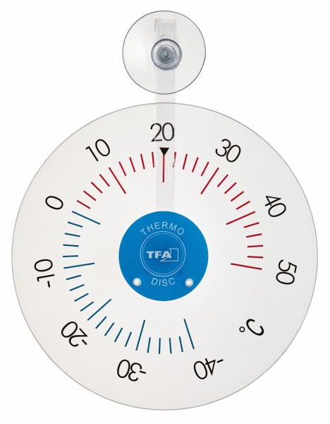 TFA 14.6020 Analoges Fensterthermometer THERMO DISC
