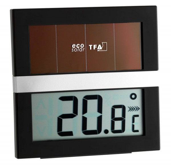 Thermometer-Hygrometer Eco Solar 30.5017