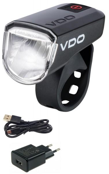 VDO Fahrrad Frontlampe ECO LIGHT M30 Plus inkl. Netzteil