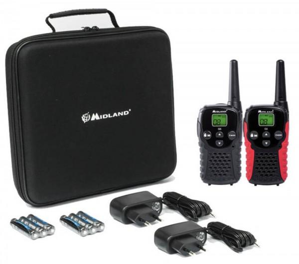Midland G5 C Base Kofferset Funkgeräte Babywächter
