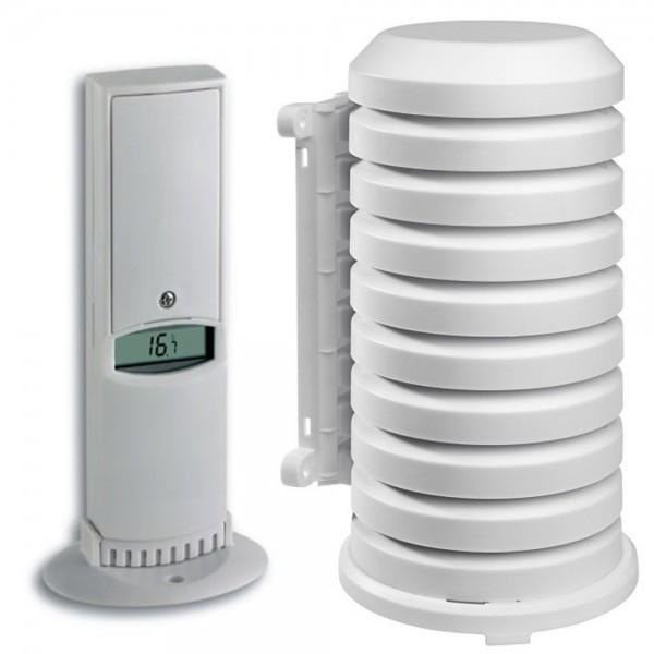 Funk-Sender TFA 30.3144 mit Wetterschutzgehäuse Temperatur Luftfeuchte
