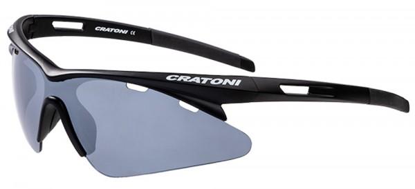 Cratoni Fahrradbrille Futuro Bikebrille Sonnenbrille 100% UV Schutz
