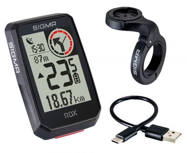 Sigma Rox 2.0 Top Mount GPS Bike Computer Navi Fahrradtacho Komoot
